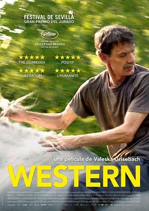 Western - cartel de cine