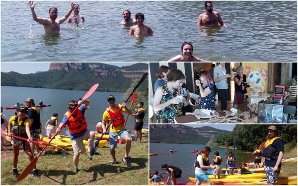 Festnits 2018 | Almuerzo y actividad en kayak en Pantà de Sau