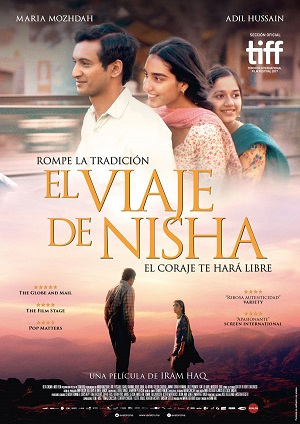 La vida de Nisha - cartel de cine